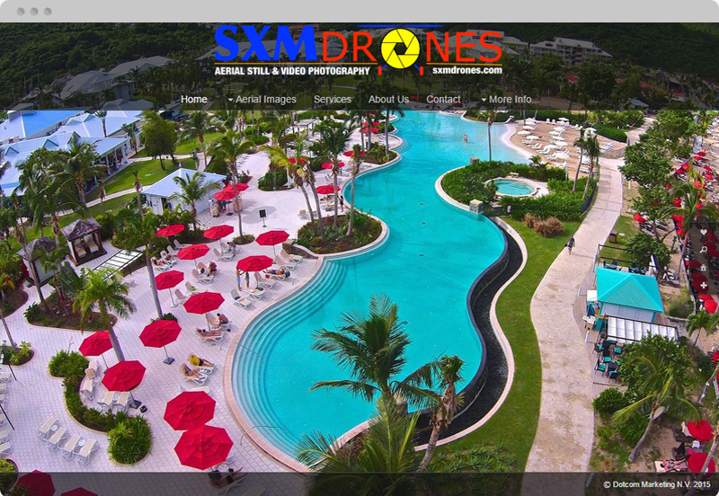 Redframe Photography Websites Client Example - SMX Drones